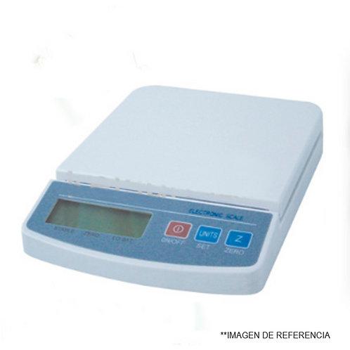 BALANZA DIGITAL 2500 g 0,5 g. Adaptador y pilas