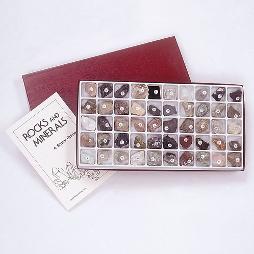 Colección de Rocas y Minerales. 50 piezas