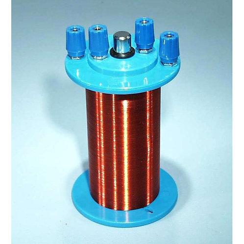 Equipo de Inducción. 2 bobinas y núcleo