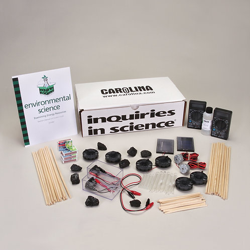 Kit INDAGA Examinando Recursos Energéticos