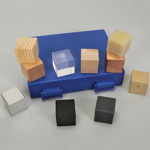 Set de Densidad. 12 cubos