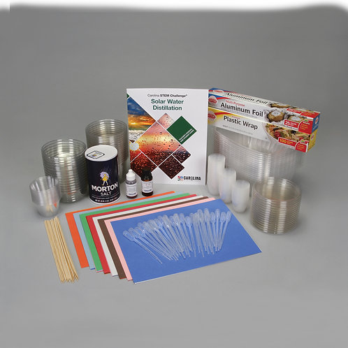 STEM KIT Destilación de Agua Solar