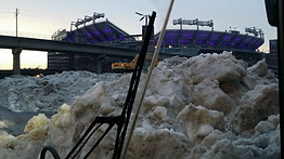 M&T Bank Stadium Snow Farm