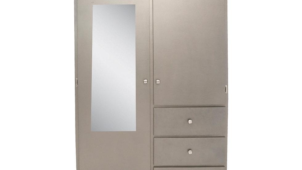 Closet MEMIN GRIS OXFORD 204 cm alto