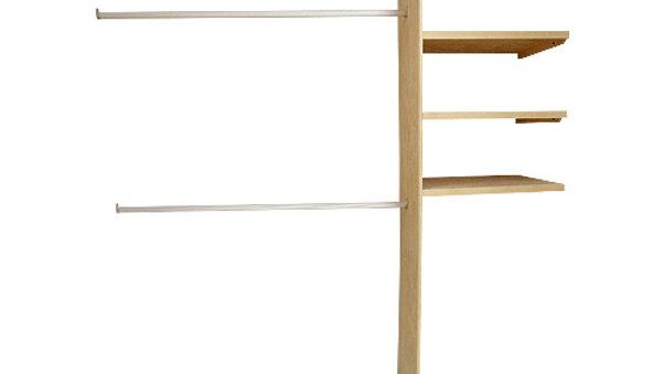 Closet de Pino para armar, ideal para espacio de 180cm