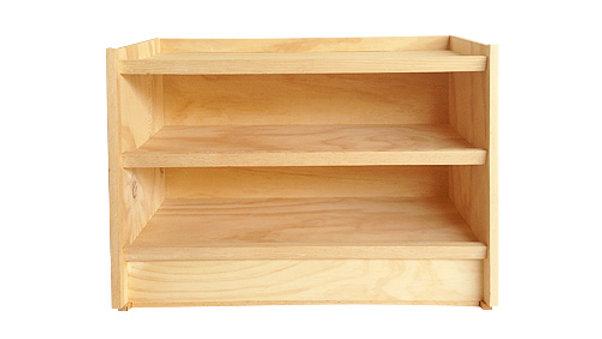Zapatera Horizontal 80cm en madera de pino