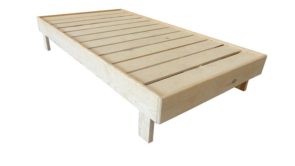 Base de cama indivudual armable