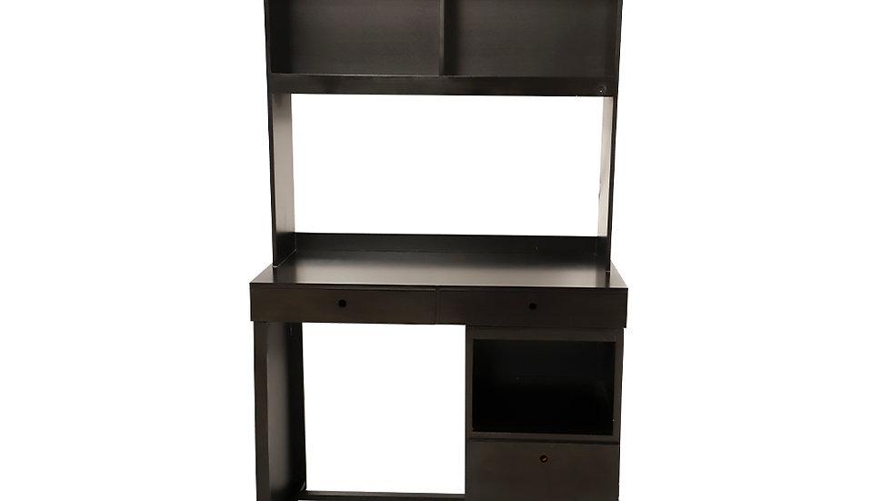COVID escritorio con librero y archivero choco