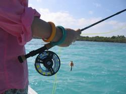 quelle tenue pour pêcher un si beau poisson!