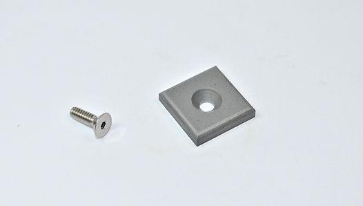 Carbide Pad for Hem Saw Backup Guides an Bumper Blocks
