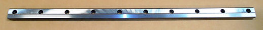 Rear Vise Slide Plate for Amada Band Saws