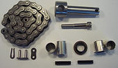 Chip Conveyor Rebuild Kit for Amada Saws with Chain Driven Auger