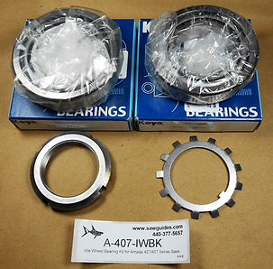 Idle Wheel Bearing Kit for All Amada 400 Series Band Saws