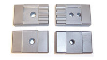 """This Side Guide Set fits Cosen Saws running a 1.250"""" Wide Blade and calling for the listed cross numbers."""