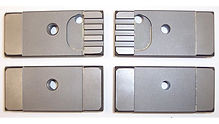 """New Guide Set for Amada HA16S & HFA16S Saws / 1.50"""" Blade"""