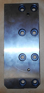 Stationary Vise Plate (F) For Amada PCSAW530 Band Saws