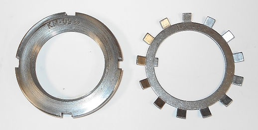 AW-09 & AN-09 Crown Nut and Washer Set