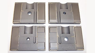 """New Side Guide Set for DoAll Saws Using a 2.625"""" Wide Blade"""
