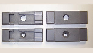 """Side Carbide Guide Set for DoAll Band Saws  Fits Vertical / Tilt Frame Machines using a 1.00"""" Wide Blade"""