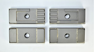 """Side Carbide Guide Set for DoAll Band Saws  Fits Horizonal Machines using a 1.25"""" Wide Blade"""