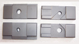 """Side Carbide Guide Set for DoAll Band Saws  Fits Tilt Frame / Vertical Saws using a 1.50"""" Wide Blade"""
