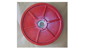 """Driven Wheel for Amada 250 Series Band Saws Full Stroke Machines - 1.250"""" Wide Blade"""