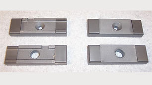 """Side Guide Set for DoAll Band Saws  Fits Horizontal Machines using a 1.00"""" Wide Blade"""