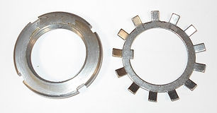 AW-07 & AN-07 Crown Nut and Washer Set