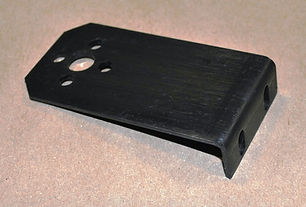 Switch Setting Plate (Proximity Switch Bracket for Motion Detector) for Amada Saws