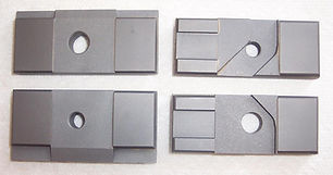 """Side Carbide Guide Set for DoAll Band Saws  Fits Vertical / Tilt Frame Machines using a 1.250"""" Wide Blade"""