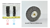 "SHARC ""Standard"" Duty Wire Wheel for Amada Saws"