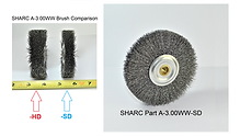 "SHARC ""Standard"" Duty Wire Wheel for Amada Saws"