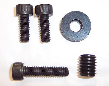 Work Stopper Plate Hardware Kit for Amada 400 Band Saws - Universal Plate to fit all 406/456 & 407/457 Series Saws