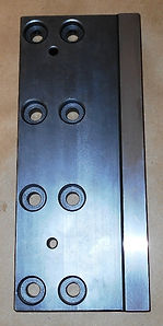 Movable Vise Plate (F) for Amada PCSAW530 Series Band Saws