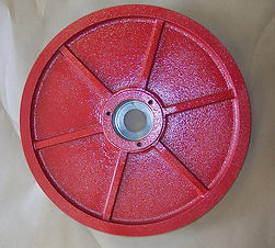 """Driven Wheel for Amada 250 Series Band Saws Rack & Pawl Machines - 1.250"""" Wide Blade"""