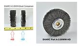"SHARC ""Heavy"" Duty Wire Wheel for Amada Saws"