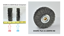"SHARC ""Heavy"" Duty Wire Wheel for Amada Saws"