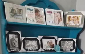 Family Member Picture Frames
