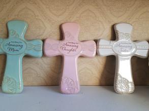 Mom, Daughter, & Sister Wall Crosses