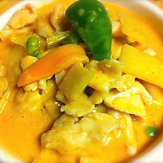 Red Curry-Lunch