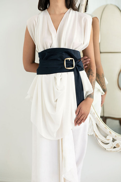 Silk Cummerbund Belt