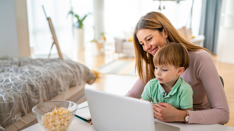 busy-family-mother-and-child-at-home-wor