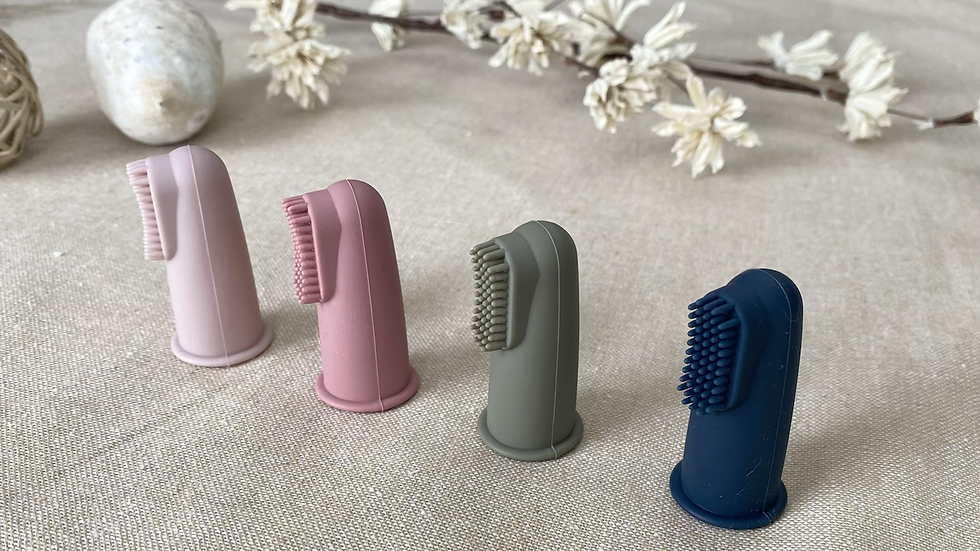 Silicone Finger Toothbrush 2 Pack