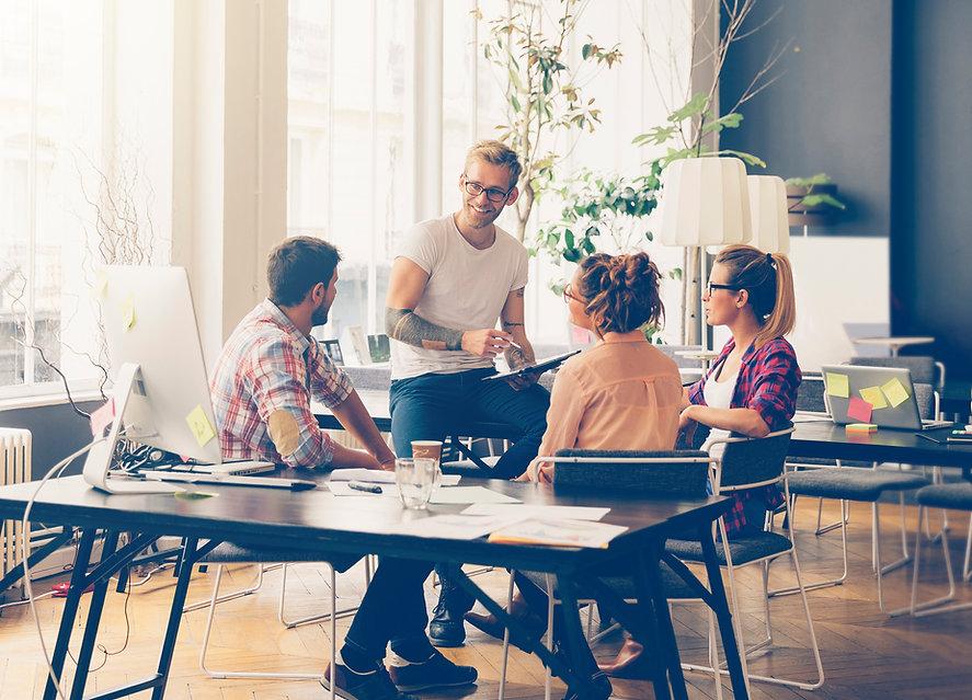 Agiles Mindset entwickeln Meeting