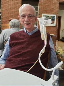 David Rowland tube feeding outside