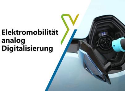 Elektromobilität analog Digitalisierung