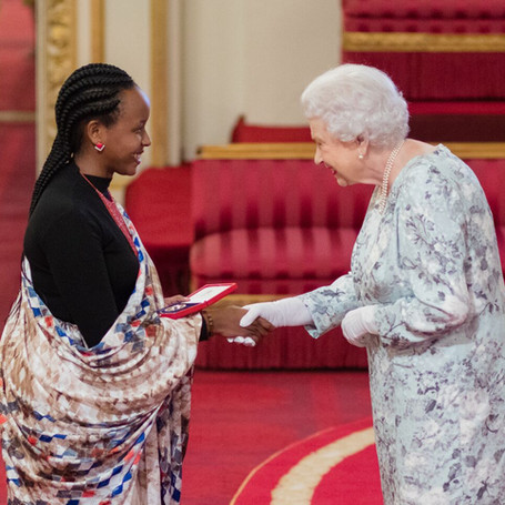 IRIBA Awarded by Her Majesty Queen Elizabeth II in 2017 at the Buckingham Palace