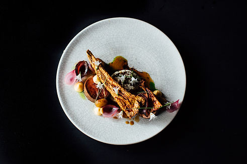beef fillet, parsnip, chevre, spring all