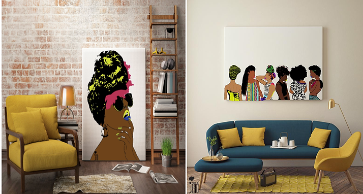 Afro Centric Home Décor From Llulo