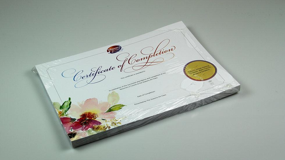 Certificates - Returners 2